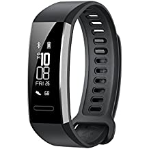 "HUAWEI Band 2 PRO Smartwatch, Display da 0.91"", Nero"