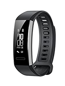 Huawei Band 2 Pro Fitness Wristband Activity Tracker - Black (Built-in GPS, Up to 21 days usage, 2 Year UK Warranty)