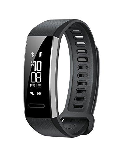 Huawei Band 2 Pro. Tipo de dispositivo: Wristband activity tracker, Color del producto: Negro, Material de la carcasa: Vidrio, Poliuretano termoplástico (TPU). Tipo de visualizador: PMOLED. Marca compatible: Universal, La resistencia al agua: 5 ATM. ...
