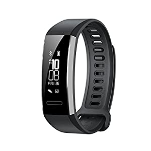 41xp3wR zrL. SS300  - Huawei Band 2 Pro Fitness Wristband Activity Tracker - Black (Built-in GPS, Up to 21 days usage)