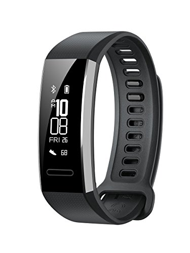 Huawei 55022179 Band 2 Pro Fitness Wristband Activity Tracker – Black (Built-in GPS, Up to 21 days usage)