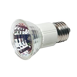Avalva 0588-C Aluminium Reflector E27 Lamp 50 W Silver