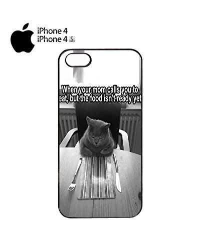 When You Mom Calls to Eat But The Food Isn't Ready Yet Mobile Phone Case Cover iPhone 6 Plus + White Noir
