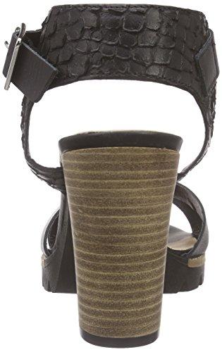 Bullboxer Black Alla Sandali Nero 833003e2l blck Cinturino Woman Caviglia rqpUCa1rwx