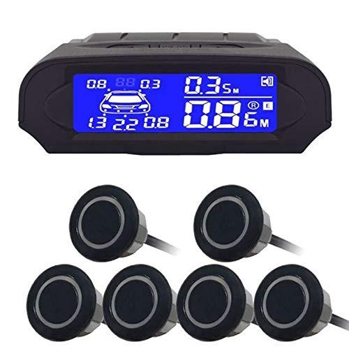 Lynn025Keats Universeller Digital Entfernung LCD-Anzeige Auto-Monitor-Parken-Sensor-Auto Radar -