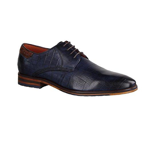 Sapato De Hechter Daniel Evo Azul Homens Negócios Renzo qz4fx5w