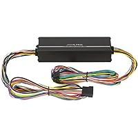 Alpine KTP - Amplificador (400 W, 45 W RMS, 82 dB, de 4 canales), negro