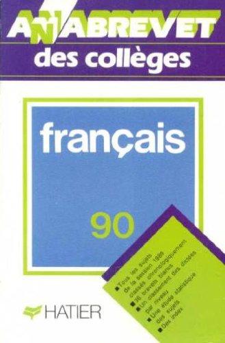 Annabrevet 1990, Brevet des collèges Français, numéro 3