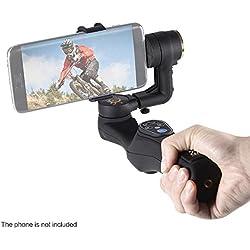 """Docooler Léger ABS 2 Axis Handheld Brushless Stabilisateur Télécommande Gimbal Bluetooth Clip réglable avec 1/4 """"Trou à Vis pour iPhone Samsung BlackBerry Xiaomi Smartphone"""