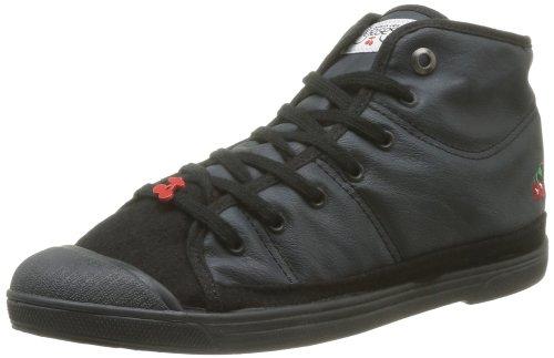 Le Temps des Cerises - Basic 03 Mono Leather, Sneaker Donna Nero (Schwarz)
