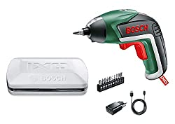 Bosch cordless screwdriver IXO (5 generation, in storage box)