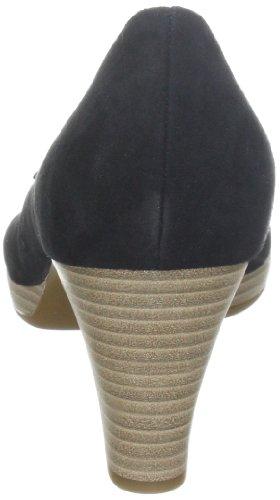 Gabor Shoes 4161117 Damen Pumps Schwarz (schw.(Sohle natur))