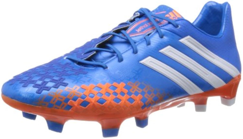 adidas PREDATOR LZ TRX FG Zapatos de Fútbol Azul Rojo para Hombre