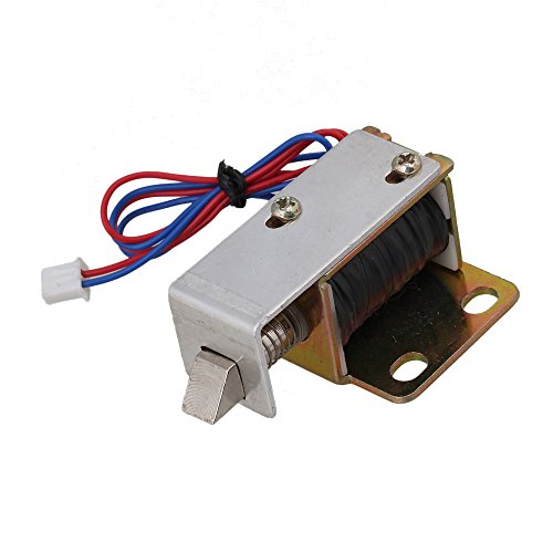 CNBTR DC 12V TFS-A12 Open Frame Type Solenoid Electric Door Lock for Newspaper Boxes by CNBTR Locks Accessories