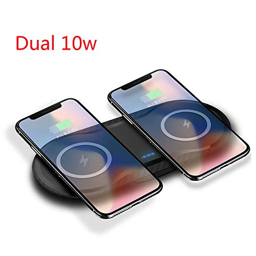OUYAWEI Elektronische Produkte Qi Wireless Charger Phone Ladematte Pad für iPhone XS Max Samsung S9 + S10 + schwarz -