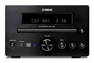 yamaha crx 330bl micro component dab receiver cd player. Black Bedroom Furniture Sets. Home Design Ideas