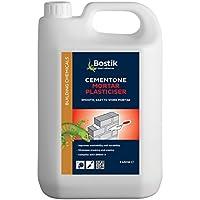 Bostik 30812466 Cementone mortaio plastificante, 5 l, colore: bianco