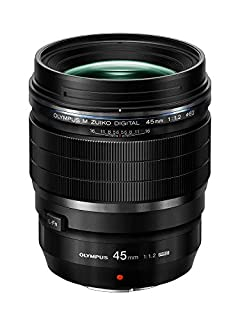 Olympus M.Zuiko Digital ED 45 mm 1:1.2 Pro Lens - Black (B076Q9TK3J) | Amazon price tracker / tracking, Amazon price history charts, Amazon price watches, Amazon price drop alerts