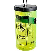 07668 Natural Control-Trampa para avispas con cebo, color verde