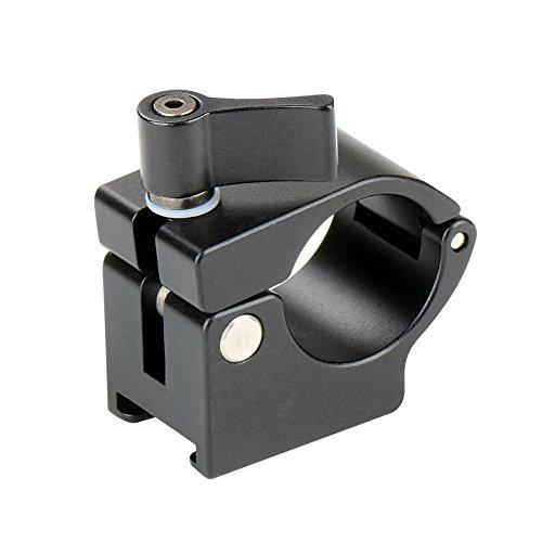 zreal Adapter-Halterung Schellen mit Stab Schiene 22/25mm stabilisierende Halterung-Halterung Alumium-Legierung für Zhiyun DJI