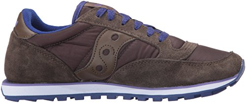 Saucony Jazz Low Pro Damen Sneaker Lila Brown