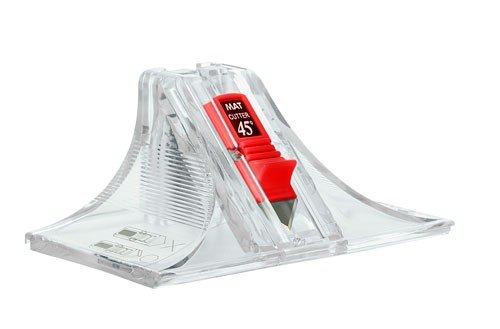 Passepartout-Schneider 2 in 1 45° und 90° Winkel
