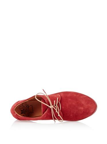 Think Woach 80270 Damen Schnürhalbschuhe Rot (rosso/kombi 72)