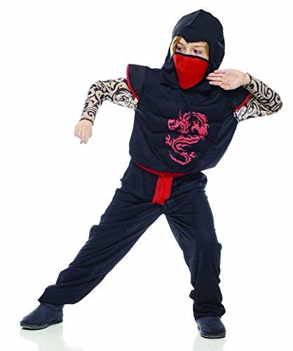 Rubies s it30106-l–Dragon Ninja disfraz, talla L
