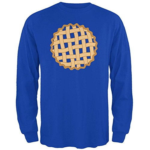 Halloween Gitter Pie Kostüm Blueberry Mens Long Sleeve T Shirt Royal MD