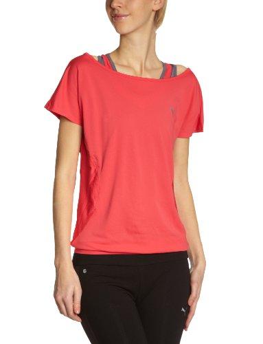 Puma T-shirt Femme Rouge