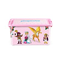 Playmobil Plastic Storage Box 13 L - 38, 5 x 27, 5 x 18, 5 cm - Princesses
