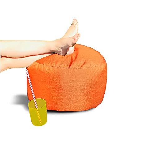 rucomfy Bean bags - Taburete Redondo para Interior y Exterior, Color N