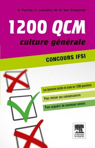 1200 QCM d'actualit sanitaire et sociale Concours IFSI