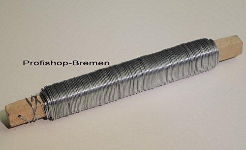 Blumendraht Bindedraht Basteldraht verzinkt Drahtstärke 0,65mm
