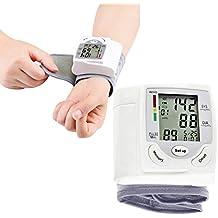 AYQ Tensiometro Brazo Medical, EsfigmomanóMetro De MuñEca, DeteccióN De Pulsos De Arritmia Y PresióN