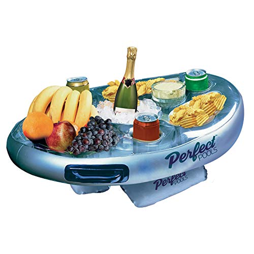 Perfect Pools Spa Bar Aufblasbare Whirlpool Tisch für Getränke und Snacks - Perfekt für Pool Parties