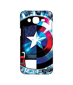 Licensed Marvel Comics Captain America Premium Printed Back cover Case for Samsung On7