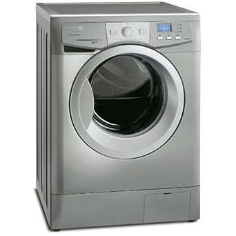 Fagor F-2810 X Autonome Charge avant 8kg 1000tr/min A+ Acier inoxydable machine à laver - machines à laver (Autonome, Charge avant, Acier inoxydable, LCD, 8 kg, 1000 tr/min)