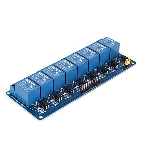 3 V Módulo relé 8 canales Placa interfaz Optoacoplador