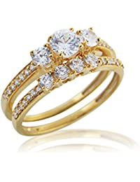 Silver Dew Pure 925 Sterling Silver Designer Two Prices Solitaire Diamond Ring For Women & Girls Jewellery