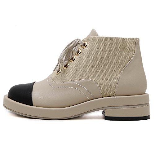 Chaussures Femme Matière Voguezone009 Mélangee Lacet Légeres SaUpqa76z