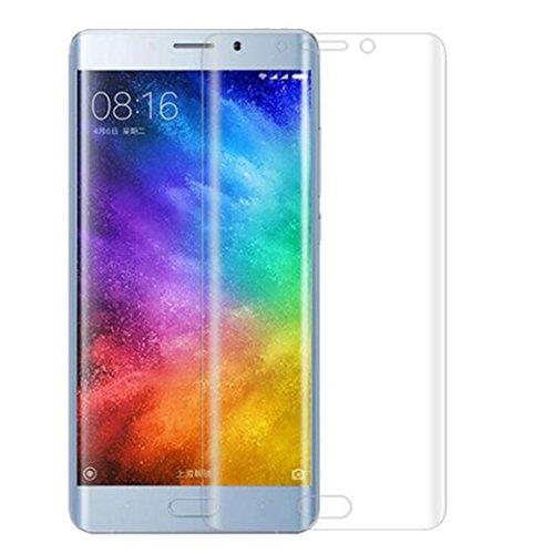 Protector de pantalla Cristal templado para Xiaomi Mi Note 2 'Pantalla completa' TRANSPARENTE (Cubre la zona curva de la pantalla). Grosor 0,2mm con alta resistencia a impactos. Perfecto ajuste sin dejar zonas sin cubrir. No se forman burbujas