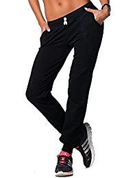 EloModa® Jogging Hose Sport Hose mit Taschen BW mit Lycra, Gr. S M L XL XXL 3XL, p1000