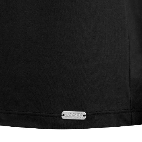 Jockey® Herren, Microfiber T-Shirt, kurzarm, 22311812 Schwarz