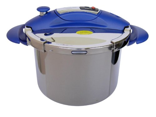 Sitram Sitraspeedo 10 Litre Pressure Cooker with Timer, Blue