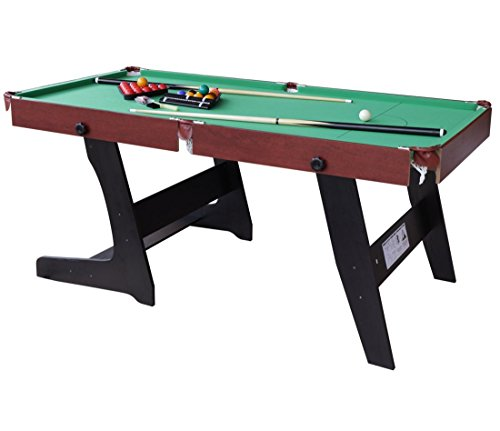 HLC 6 FT 188*97*79 CM faltbarer Billardtisch Pool Snooker Tischspiel