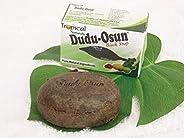 الصابون الأسود الأفريقي المشهور عالميا (dudu osun) مفيد لتبييض البشرة وعلاج الكلف وحب الشباب وغيرها
