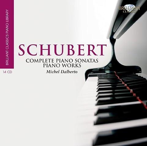 Schubert: Complete Piano Sonatas, Piano Works (Coffret 14 Cd)