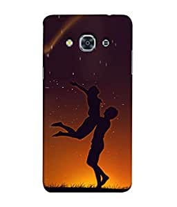 PrintVisa Designer Back Case Cover for Samsung Galaxy J3 Pro :: Samsung Galaxy J3 (2017) (Lovely Beautiful Friends Enjoing Moment of Life)