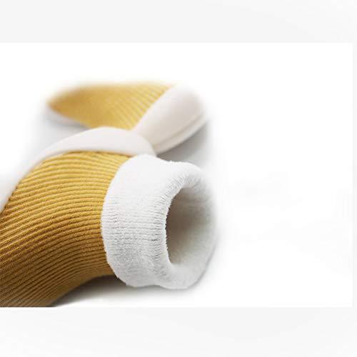 Sweetlover Botines Antideslizantes para bebés Recién Nacido Bebé de Punto Suave Invierno Calzado de Cuna Calzado para niños pequeños Calcetines de Piso